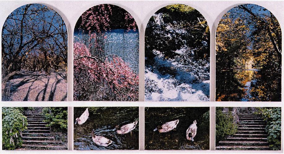 Don Eddy, Seasons of Light 1998-99, Acrylic on Canvas