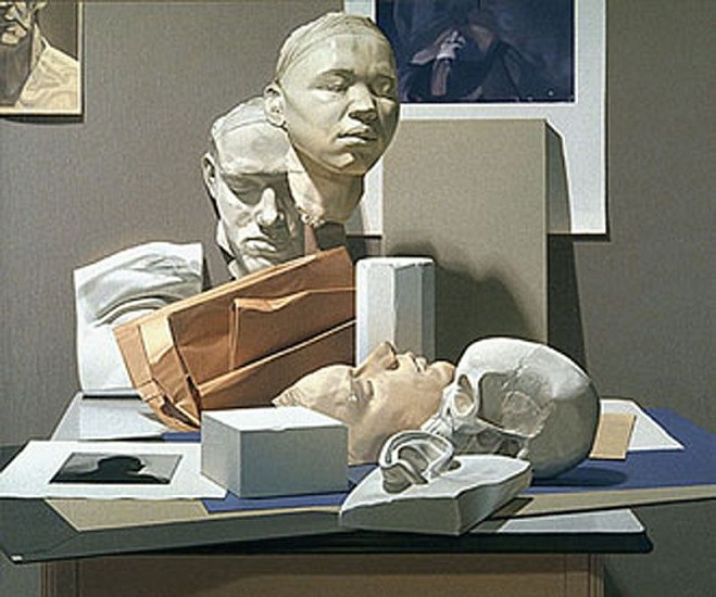 Harold Reddicliffe, Group Portrait 1990, Oil on Canvas