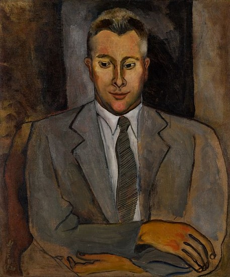 Alice Neel, Portrait of Ben Medary 1930, Oil on Canvas