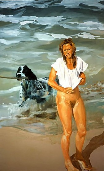 Eric Fischl, Lapping Sounds Along the Shore 1996-1997, Oil on Linen
