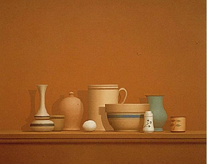 William Bailey, Arezzo Still Life 1979, Oil on Canvas