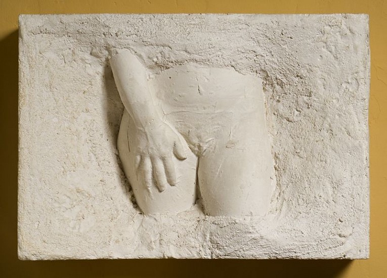 George Segal, Young Girl 1972-73, Plaster