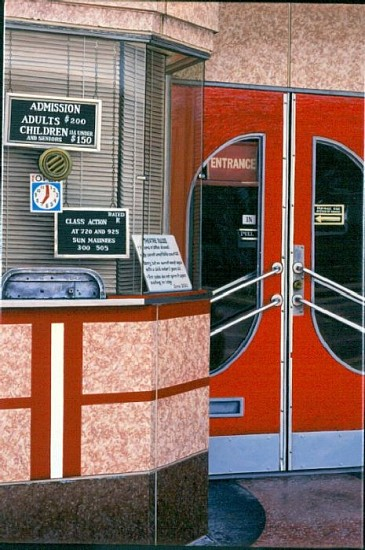 Davis Cone, Berkley Box Office 2000, Acrylic on Canvas