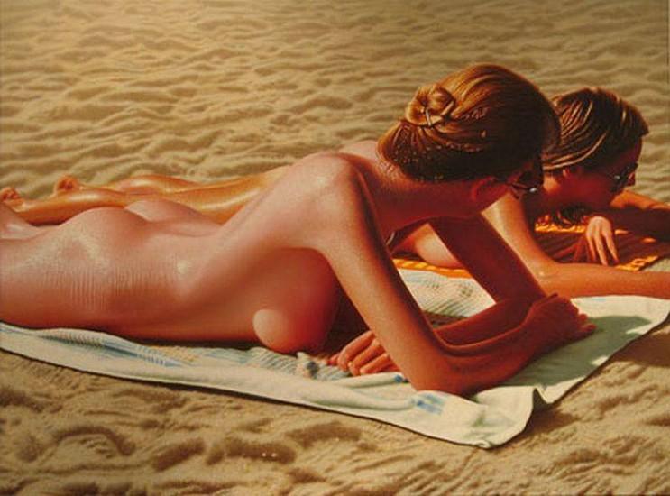 Hilo Chen, Beach 154 2006, Oil on Canvas