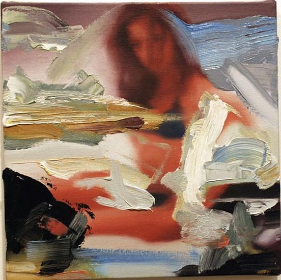 Richard Patterson, Girl in Blue Bikini 2006, Oil on Canvas