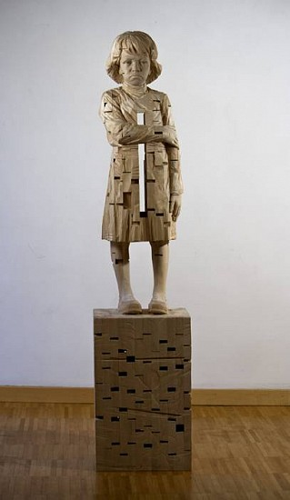 Gehard Demetz, Michelle 2009, Carved and Constructed Wood
