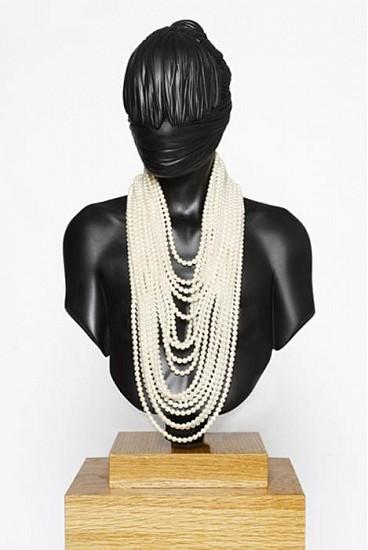 Kevin Francis Gray, Pearly Girl 2010, Fiberglass Resin, Automotive Paint, Black American Oak