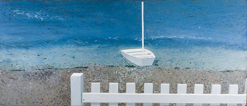 Jennifer Bartlett, At Sands Point #21 1986, Oil on Canvas