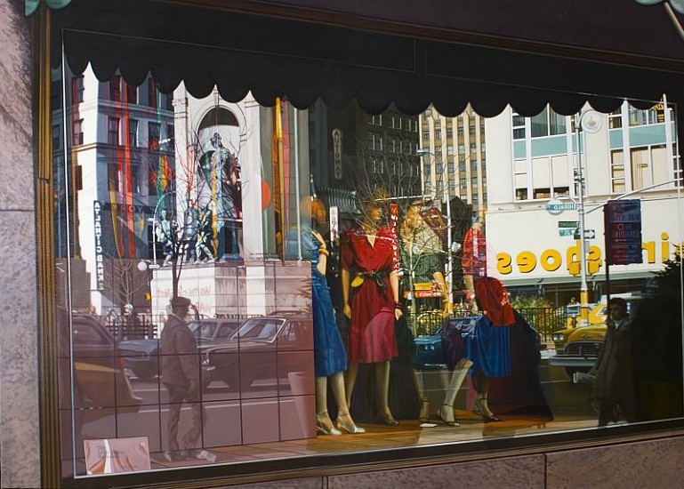 Tom Blackwell, Herald Square 1983, Oil on Linen