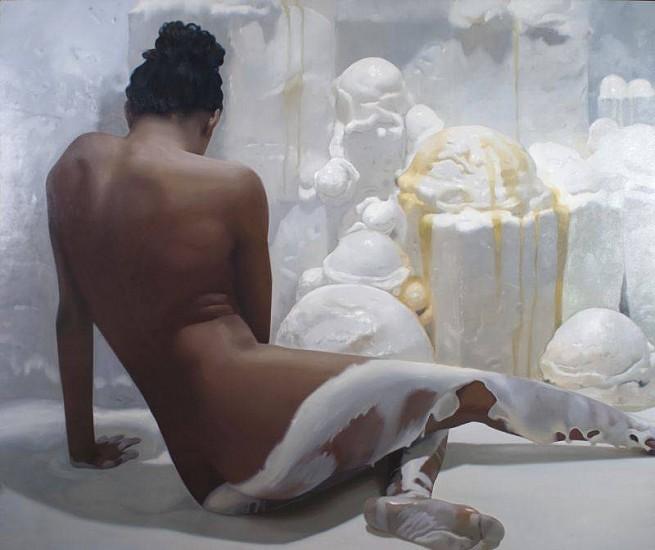 Will Cotton, Ice Cream Cavern 2003, Oil on Linen