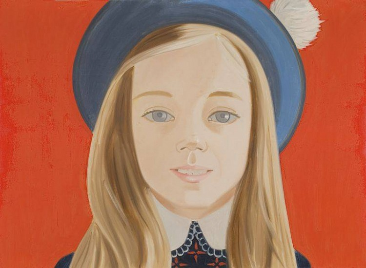 Alex Katz, Amanda 1973, Oil on Canvas