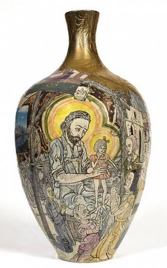 Grayson Perry, He Comes Not in Triumph 2004, Glazed Ceramic