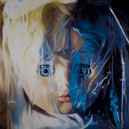 James Rosenquist, Gift Wrapped Doll #37 1997, Oil on Canvas