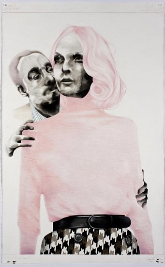 Storm Tharp, Alternate Ending 2010, Ink, Gouache & Colored Pencil on Paper