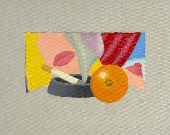 Tom Wesselmann, Study for Bedroom Painting #2 1967, Oil on Canvas