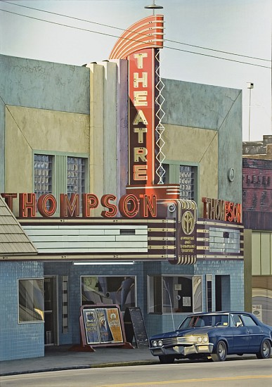 Davis Cone, Thompson 1980, Acrylic on Canvas
