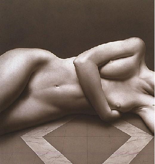 Bernardo Torrens, Desnudo 1993, Acrylic on Panel
