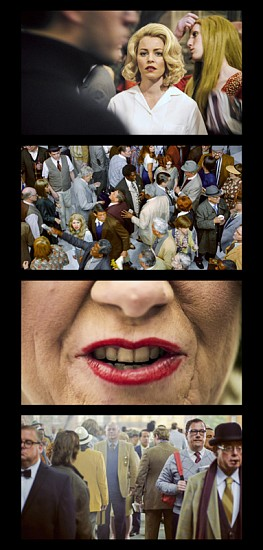 Alex Prager, Face in the Crowd Film Strip #2 (Edition 2 of 6, 2 AP) 2013, Archival Pigment Print