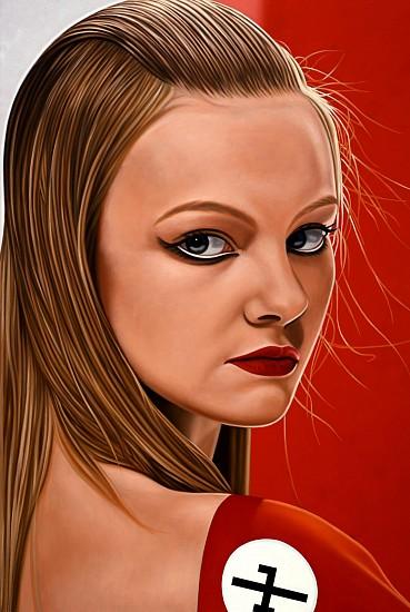 Richard Phillips, SUMKA 2008, Oil on Canvas