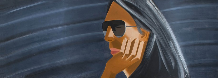 Alex Katz, Dark Glasses 1989, Oil on Canvas