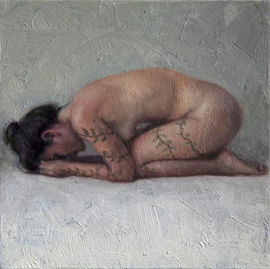 Alyssa Monks, Tiny 2016, Oil on Panel